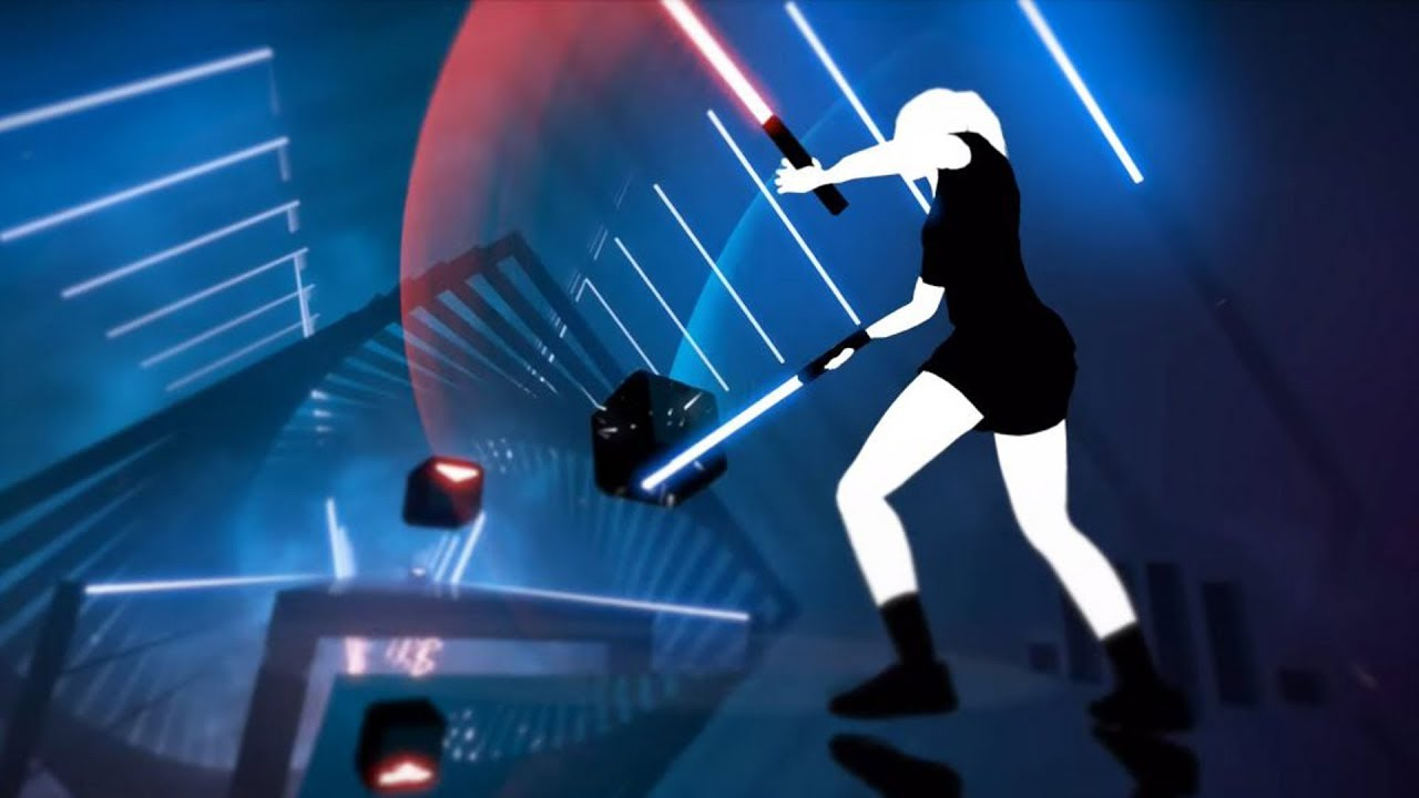 Image result for Beat Saber (Oculus Rift and HTC Vive)